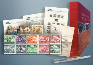 Die 100 letzten Briefmarken des 3. Reiches