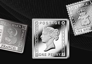 Die wertvollsten Briefmarke der Welt in reinstem Silber!